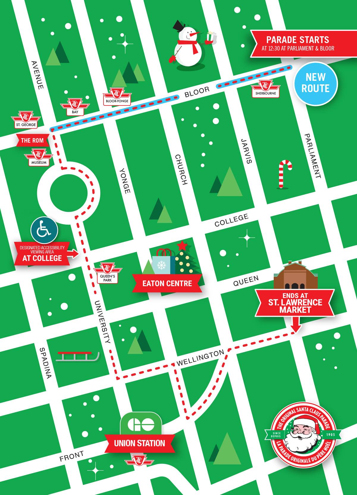 Vancouver Christmas Parade.The Santa Claus Parade The Original
